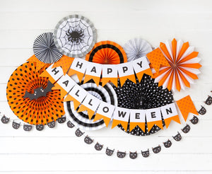 Halloween Decor Party Fans