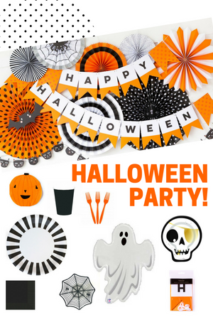 HALLOWEEN PARTY IN A BOX.  BUNDLE & SAVE!