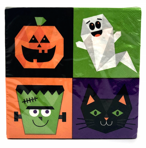 Monster Mash Halloween Napkin