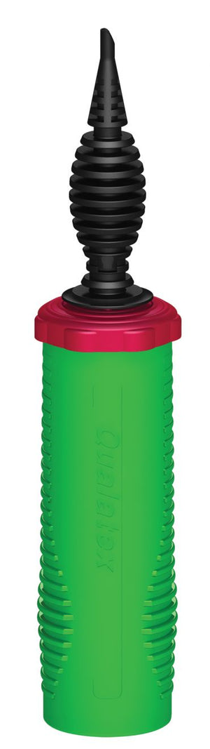 Green Balloon Air Pump Base with Black Nozzle