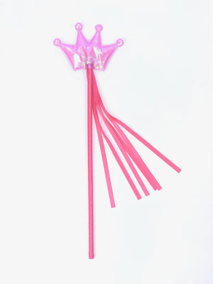 pink princess wand party favor