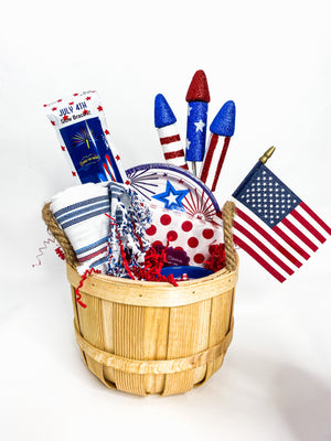 4th of July Hostess Basket