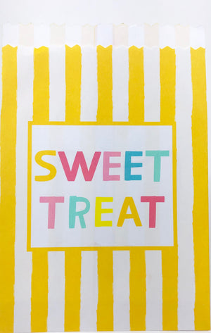 Sweet Treats Party Favor Bag