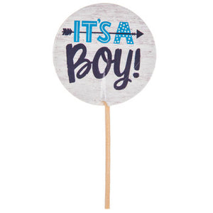 blue cupcake toppers, IT's a BOY party
