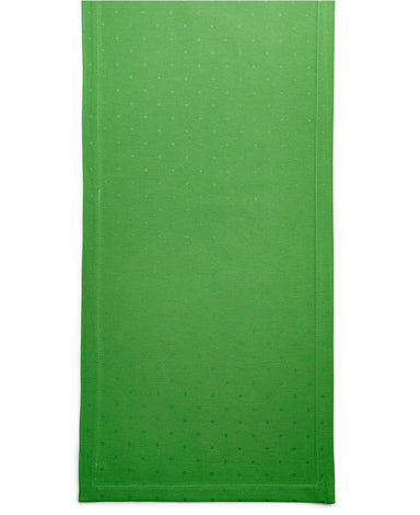 Kate Spade Green table Runner with sheen green polka dots | Party supplies | Sprinkles & Confetti