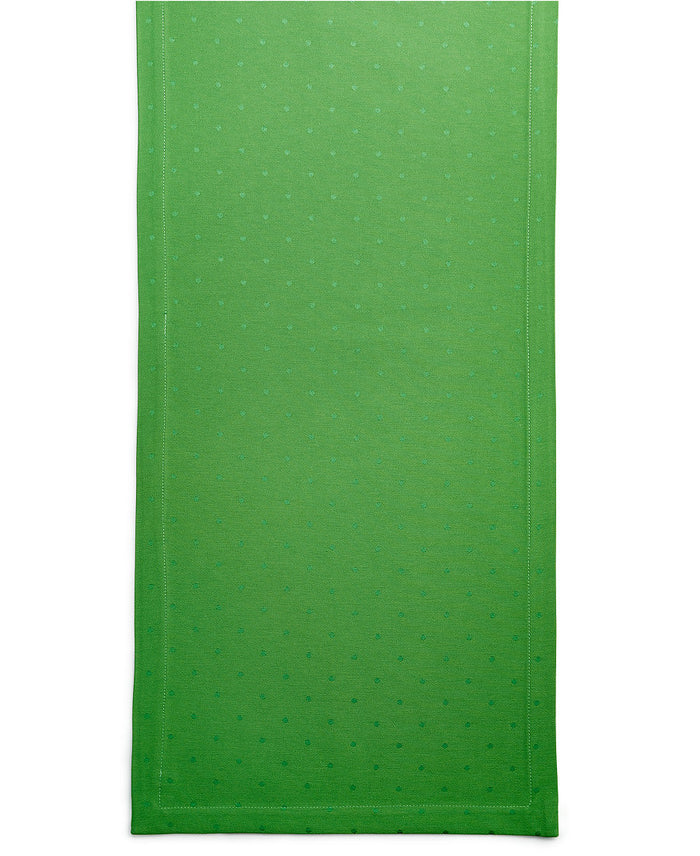 Green Dot Table Runner