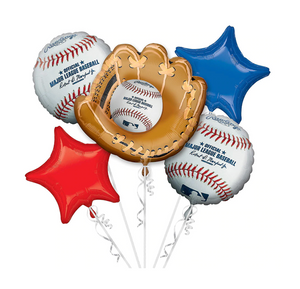 baseball balloon bundle, baseball themed party, sports, celebration