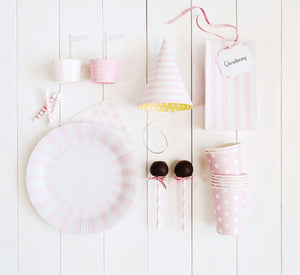 Light Pink Cocktail Napkin