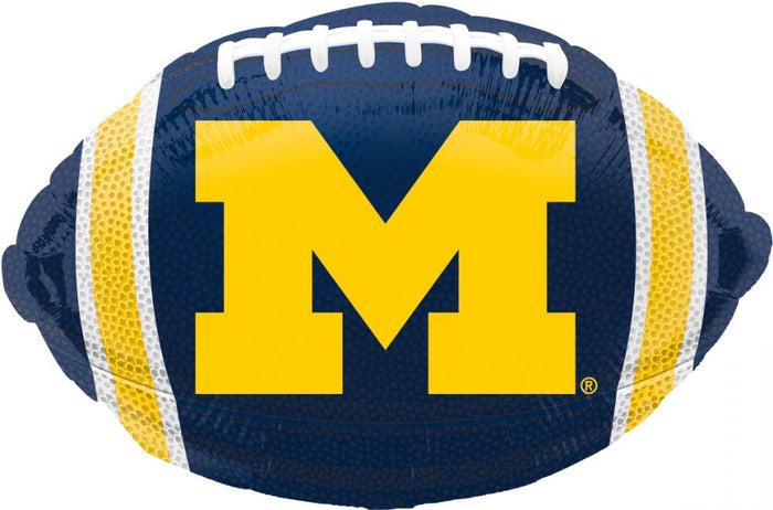 "18"" Tailgate Balloon Michigan Football"