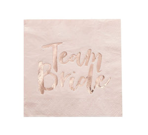 pastel pink bridal shower beautiful napkins