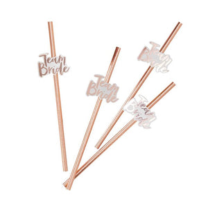 pastel pink bridal shower beautiful straws