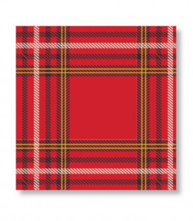 Red & Black Plaid Napkins