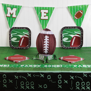 Disposable Football Tablecloth