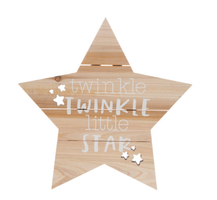 Twinkle Twinkle Decor Sign