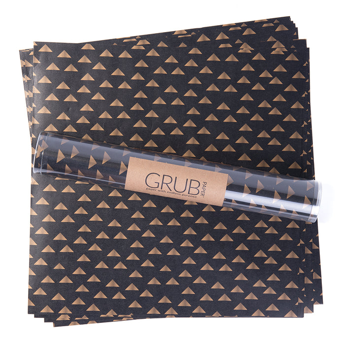 Grub Paper Black & Gold