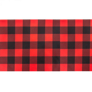 red-and-black-buffalo-plaid-table-runner-for-lumberjack-party