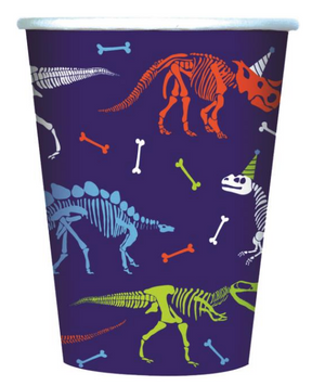Colorful Dino-mite Dinosaur Cups