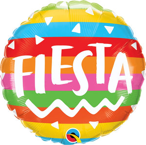 "18"" Rainbow Fiesta Balloon"