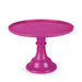 solid fuchsia purple cake stand perfect for birthdays, baby showers, bachelorette parties, bridal showers and more!