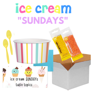 "Ice Cream ""Sundays"" Party Pack"