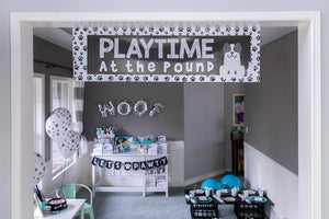 Puppy Party Banner