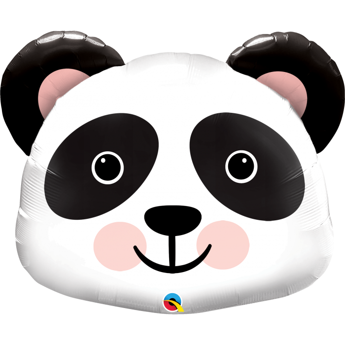 large panda face balloon