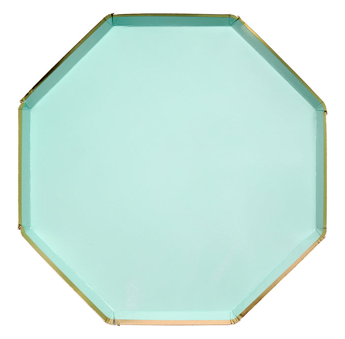Mint Simply Solids Dinner Plate