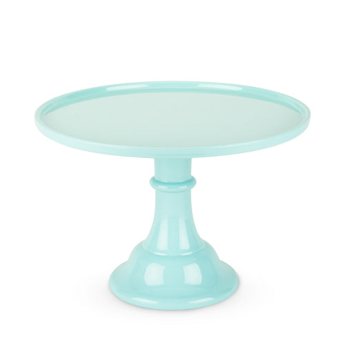 clean and elegant Mint melamine cake stand perfect for birthdays, baby showers and bridal showers