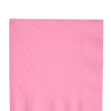 Solid light pink napkins | party supplies