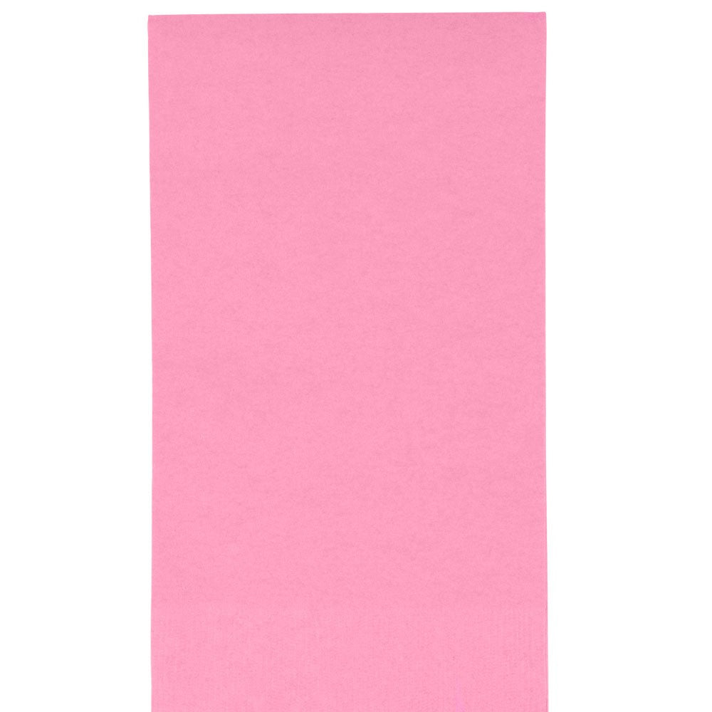 Solid light pink guest napkins | party supplies