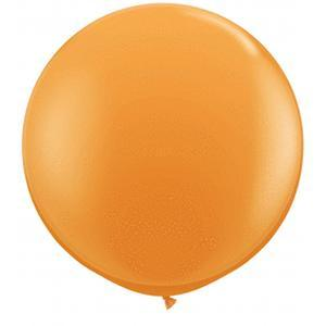 "36"" Jumbo Latex Balloon Orange"