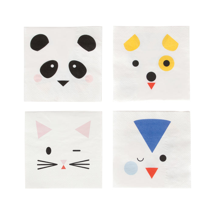 Mini Party Animal Small Napkins