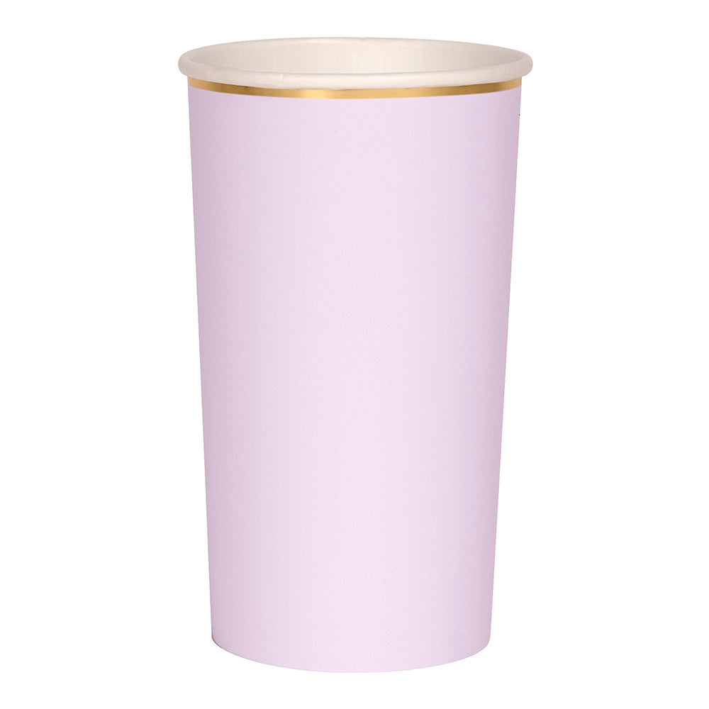 Lilac Simply Solids Highball Cup