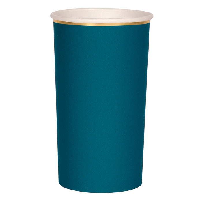 Teal Simply Solids Highball Cup