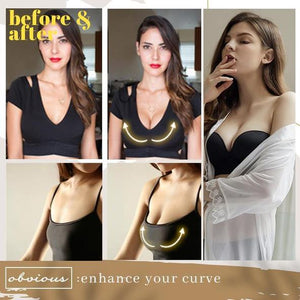 InvisiBra - Strapless Push Up Bra For Bust Lift & Support