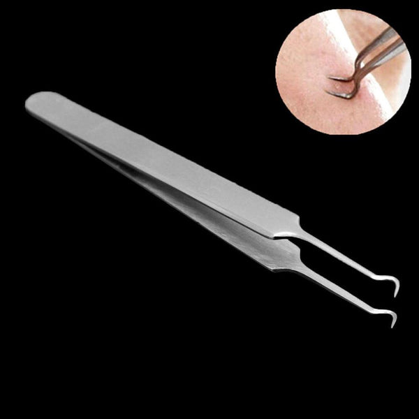 Stainless Steel Blackhead Removal Tweezers