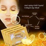 Load image into Gallery viewer, 24K Golden - Collagen Moisturizer Eye Mask For Eye Bags and Dark Circles Reduction