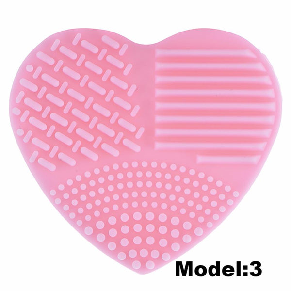 Heart Shape Makeup Brushes Cleaner