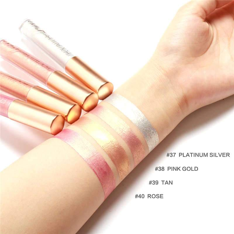Luxe - Focallure Waterproof Metallic Liquid Lipstick