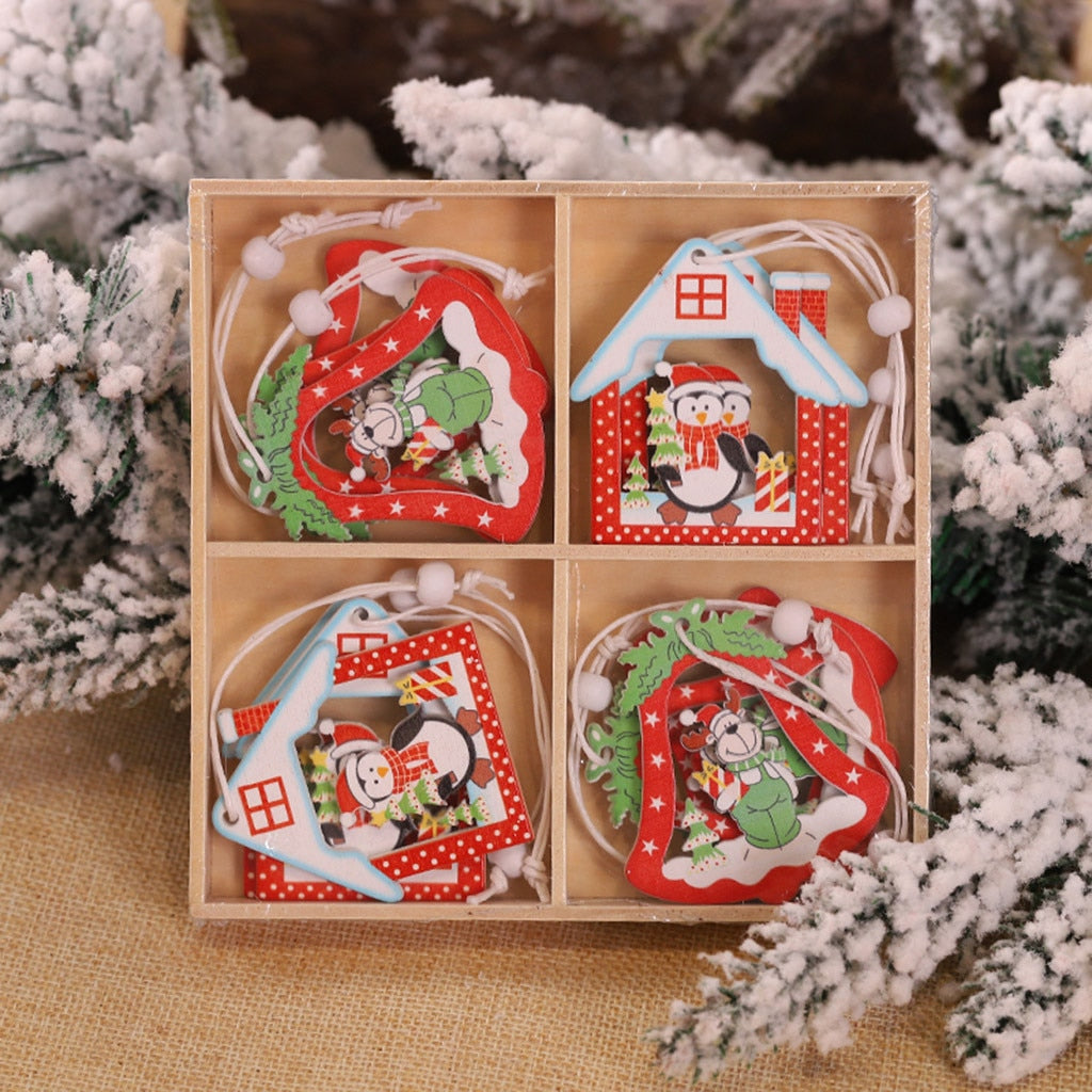 Christmas Wood Ornaments