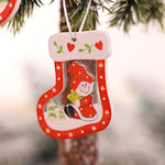 Load image into Gallery viewer, Christmas Wood Ornaments