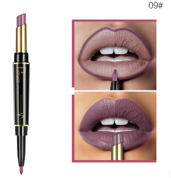 Double Trouble - Pudaier 2 in 1 Lipstick and Lip Liner