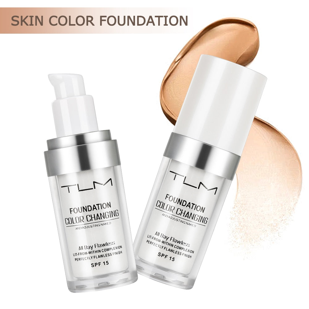 TLM Color Changing  Foundation SPF 15