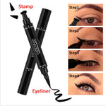 Load image into Gallery viewer, Perfect Wing - 2 in 1 Liquid Eyeliner