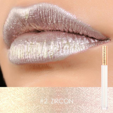 Metallic Goddess - Focallure Waterproof Metallic Lip Gloss