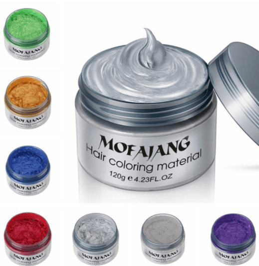 Mofajang Hair Dye Wax oupseven Bundle: ALL Colors