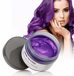 Load image into Gallery viewer, Mofajang Hair Dye Wax oupseven Purple