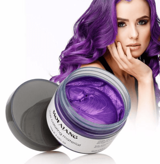 Mofajang Hair Dye Wax oupseven Purple