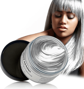 Mofajang Hair Dye Wax oupseven Gray
