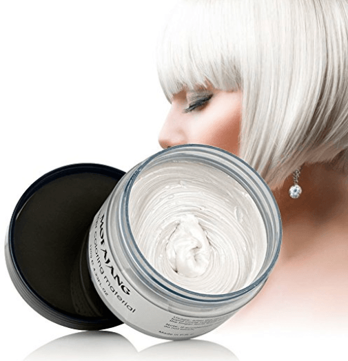 Mofajang Hair Dye Wax oupseven White